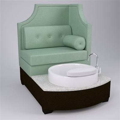 tiffany pedicure chair amp foot spa